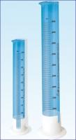 Цилиндры мерные с пластмассовым основанием исп.1 с носиком (по Т